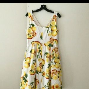 BR LEMON A LINE DRESS WITH POCKETS!